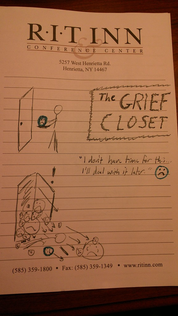 The Grief Closet (full), (c) 2013 by Hollis Easter