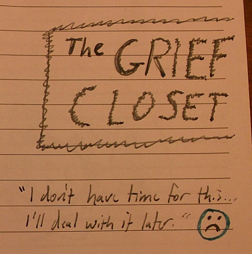 The Grief Closet (intro), (c) 2013