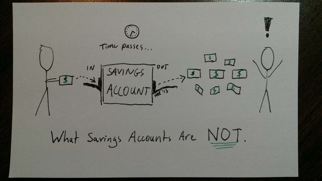 What savings accounts are not (c) Hollis Easter