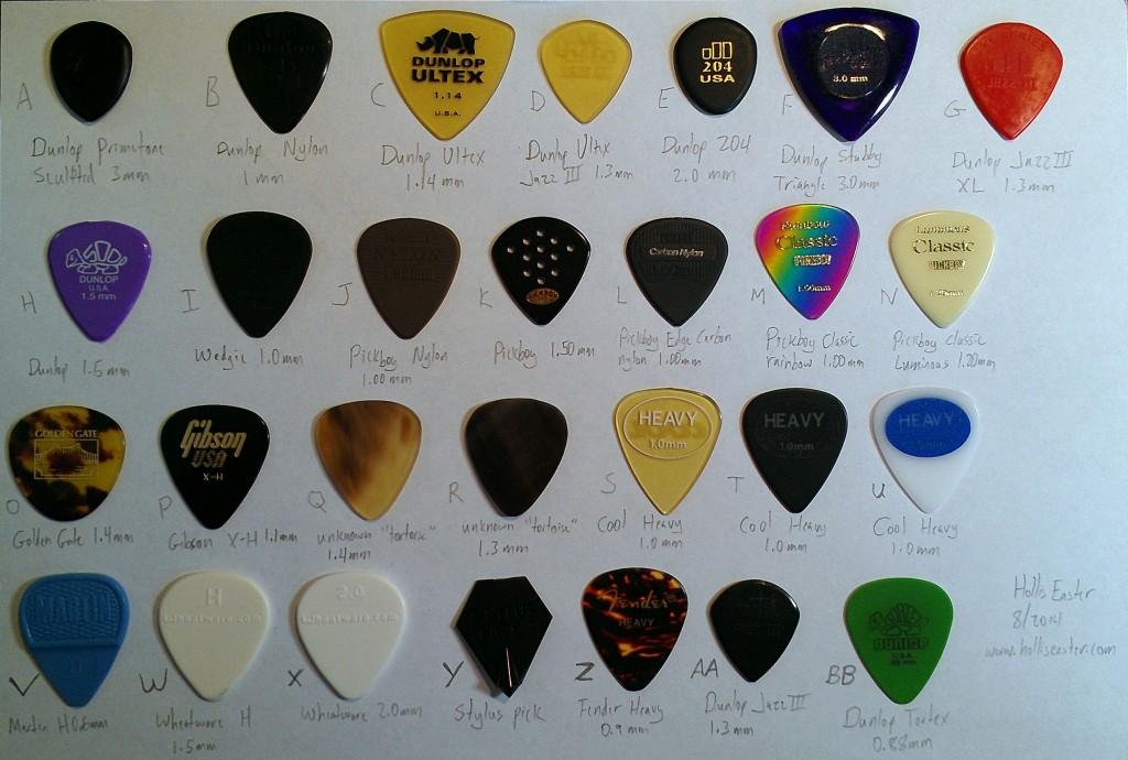 photos of mandolin picks