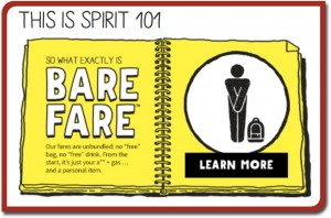 Spirit Airlines Bare Fare